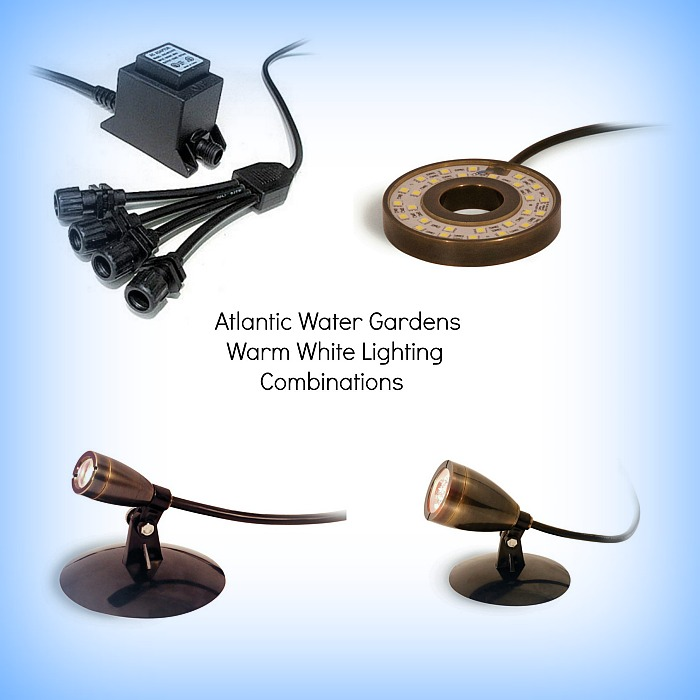 Atlantic Water Gardens LED Lighting Combinations