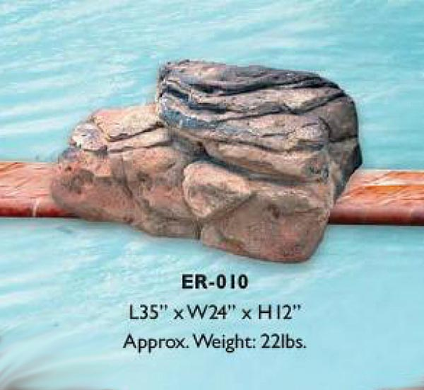 Customize your Pool Waterfalls with Our Beautiful Edge Rocks