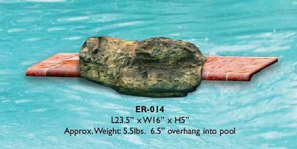 Decorative Pool Edge Rocks for Swimming Pool Waterfall Kits