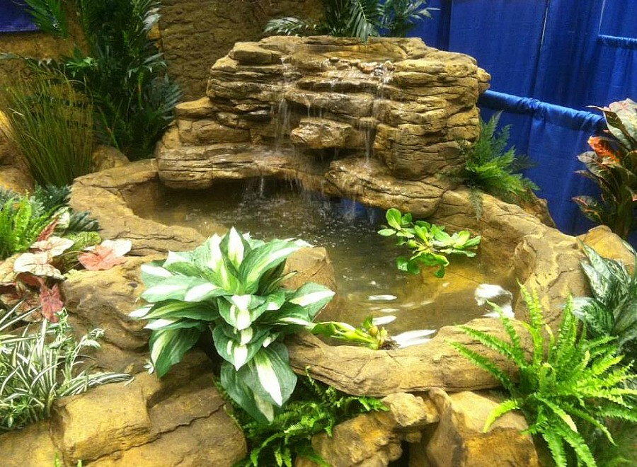 Beautiful Corner Waterfalls for a Spectacular pond & Pool Landscape Oasis