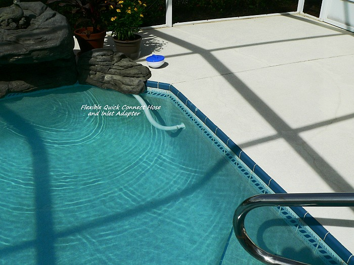 Quick Pool Hook-up for Our Swimming Pool Waterfall kits