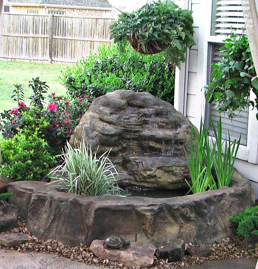 Spectacular Pond Waterfall kits for the Patio, Deck & Courtyard