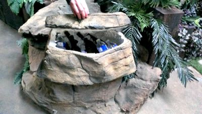 Excellent Rock Cooler for Keeping all Your Beverages Cold!
